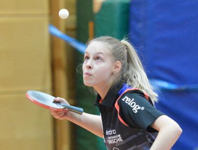 Neuzugang Sofia Stefanska war mit 3-1 am Wochenende die stärkste Spielerin des TTK Großburwedel