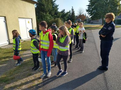 Vorschaubild zur Meldung: Fahrradprüfung der Klasse 5 am 23.09.2020