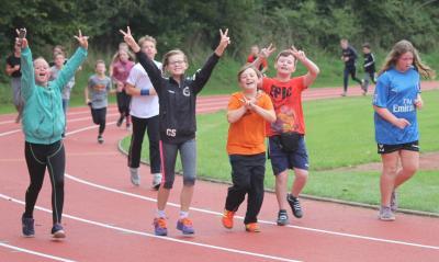 Foto zur Meldung: Lauftag an der EKS