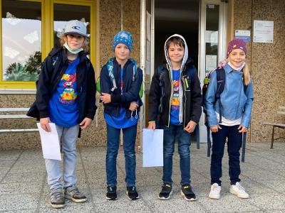Talentiadeteilnehmer in Finsterwalde