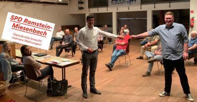 Bild der Meldung: Gavin Pfannenstiel, neues Mitglied in der SPD Ramstein-Miesenbach