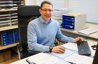 Foto zur Meldung: Christian Kummetz nun nicht mehr nur kommissarischer Leiter der Sventana-Schule