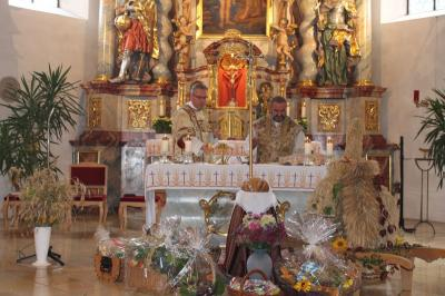Foto zur Meldung: Erntedankfest in der Pfarreiengemeinschaft