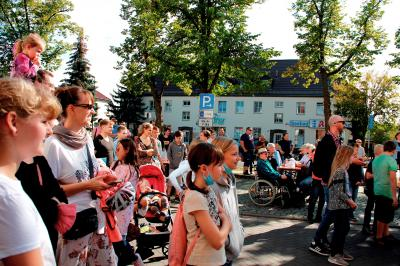 Foto zur Meldung: Großes Lesesommer-Finale auf der Rangsdorfer Kulturmeile