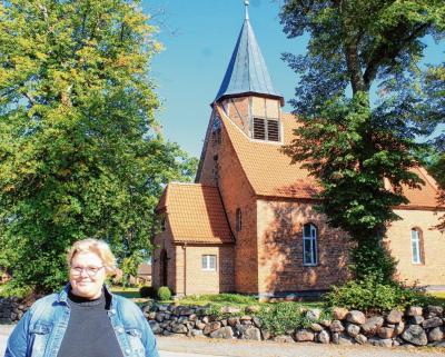 Gottesdienste können auch in ungewöhnlichen Zeiten funktionieren: Sabine Schümann lässt sich für ihre Gemeinde kreative Lösungen einfallen. Nele Assmann