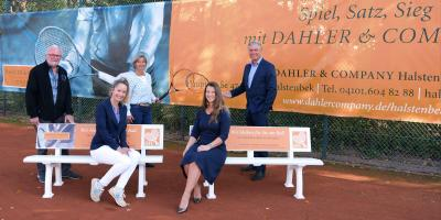 Foto zur Meldung: Schenefelder Tennis-Club und Dahler & Company Halstenbek in Aufbruchstimmung