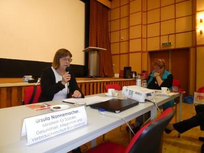 Vortrag Ursula Nonnemacher