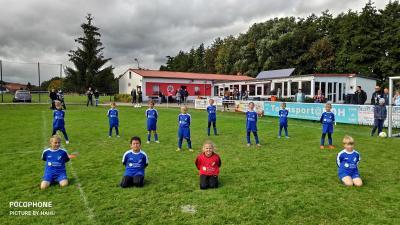 Foto zur Meldung: Das Wunder von Kraja! F- Junioren Fairplay-Liga SpG Bleicherode/ Kraja – VfB Werther am 04.10.2020
