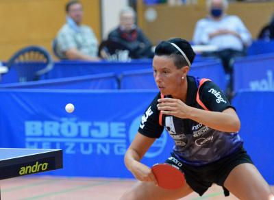 Anne Sewöster - Neuzugang aus Melle - hat bereits bewiesen - dass sie im oberen Paarkreuz der 3-Tischtennis-Bundesliga punkten kann