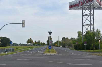Foto zur Meldung: Vollsperrung der Klein Kienitzer Straße