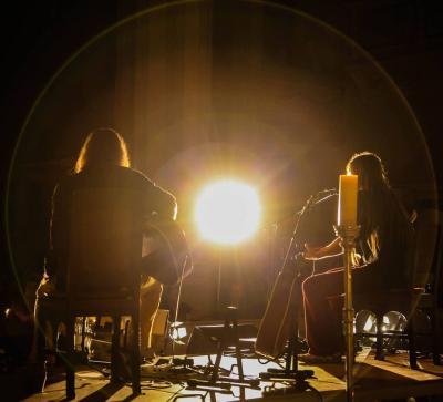 Foto zur Meldung: Tino Standhaft & Norman Daßler mit Interpretationen der Songs von Neil Young und eigenen Kreationen