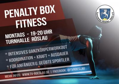 ab Montag, 12.10.2020 - Fitness-Montag mit Penalty-Box-Fitness & Functional Training