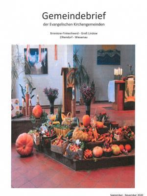 Foto zur Meldung: Gemeindebrief der evangelischen Kirchengemeinden
