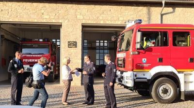 Vorschaubild zur Meldung: Neues Feuerwehrauto für den OT Gatersleben
