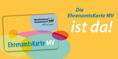 Vorschaubild zur Meldung: Die Einführung der landesweiten EhrenamtsKarte in Mecklenburg-Vorpommern