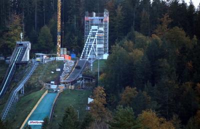 Fertigstellung der Rothaus-Schanze in Hinterzarten verzögert sich - Frauen-Weltcup in Gefahr