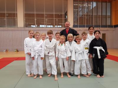 Foto zur Meldung: Ju-Jutsu Kindertraining