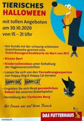 Halloween im Futterhaus Magdeburg
