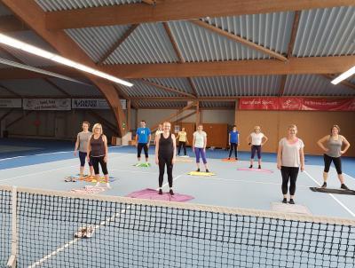 Foto zur Meldung: Fitnessgymnastik und Step Aerobic wieder in der Halle