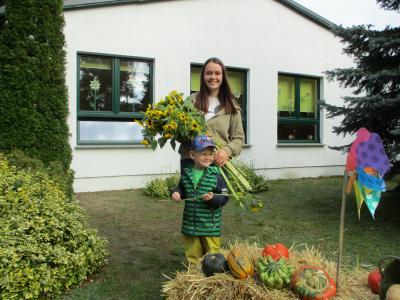 """Foto zur Meldung: Freiwilliges Soziales Jahr – Isabell im Kindergarten """"Sonnenblume"""" in Sülstorf"""