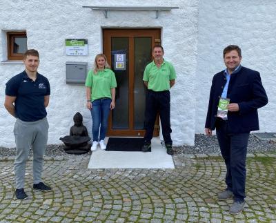 Foto zu Meldung: Neueröffnung: Praxis für Physiotherapie in Prackenbach