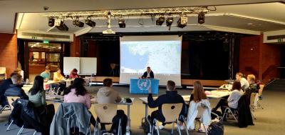 """Vorschaubild zur Meldung: """"UN-Sicherheitsrat"""" tagte am Johanneum"""