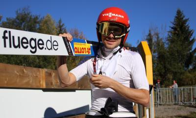 Team-Olympiasieger Fabian Rießle gelingt in Oberstdorf DM-Hattrick