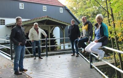 Ein Ruhepol an der Wassermühle