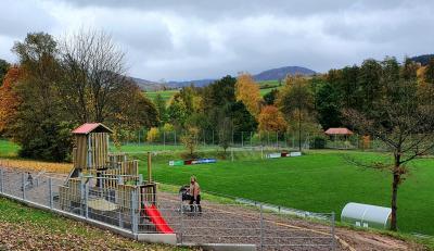 Neuer Kinderspielplatzes in der Sport- und Freizeitanlage Lüttergrund