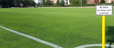 Vorschaubild zur Meldung: Fußballbetrieb ruht ab Montag - Ausnahmen für Kinder bis 12 Jahre