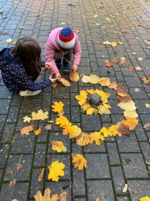 Herbstzeit - Blätterzeit