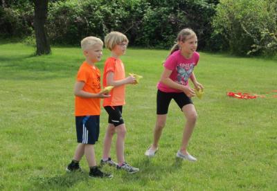 Foto zur Meldung: Training auf dem Außengelände