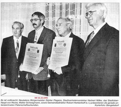 Foto zur Meldung: Rückblick Neukalen 1995