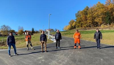 Foto zu Meldung: Neubaugebiet in Prackenbach fertiggestellt