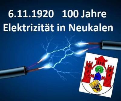 Foto zur Meldung: 100 Jahre Strom in Neukalen
