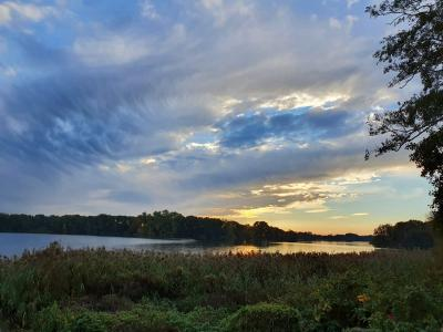 Foto zur Meldung: Blick zurück auf eine Runde um den Schmalensee