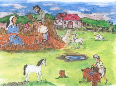 Zeichnung von Ladislav Kilak