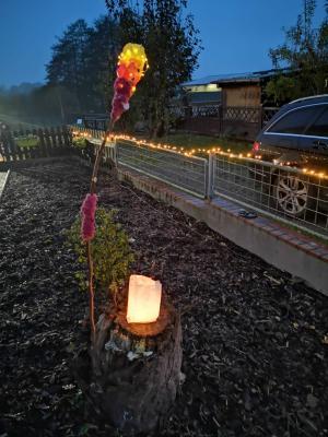 Foto zur Meldung: Da leuchtete noch mehr am Martinstag in Schmalensee