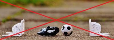 Bild der Meldung: Spielbetrieb im Fußball bis zum Jahresende ausgesetzt