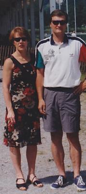 Prof. Stephan Zopfi mit seiner Frau Felicitas