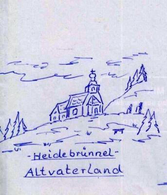 Robert Bandt, Heidebrünnel, Altvaterland
