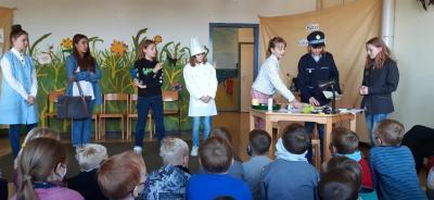 Foto zur Meldung: Kriminalfall an Schule gelöst