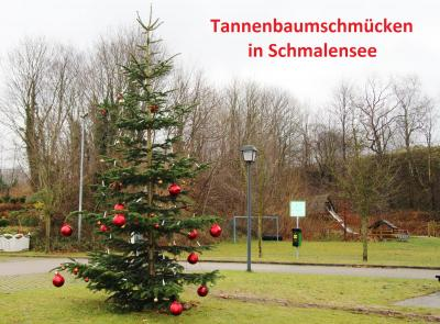 Foto zur Meldung: Tannenbaumschmücken: Neuer Ort für Abgabe von Baumschmuck