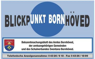 Foto zur Meldung: Achtung Vereine: Geänderte Annahmezeiten für den Blickpunkt um den Jahreswechsel