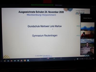 Vorschaubild zur Meldung: Applaus, Applaus für die neue MINT-freundliche Grundschule in MV