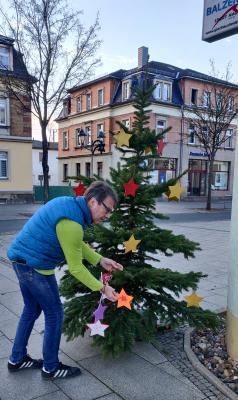 Foto zur Meldung: Weihnachtsstimmung für`s Zentrum