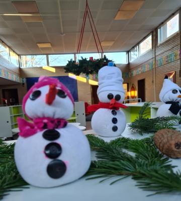 Foto zur Meldung: Adventsbasteltag