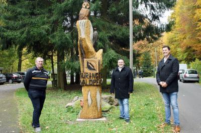 Foto zur Meldung: Am neuen Urwaldpfad in Geraberg sind nicht nur Fuchs und Hase unterwegs