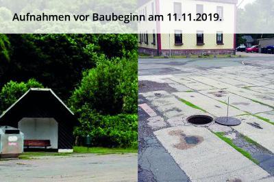 """Vorschaubild zur Meldung: Offizielle Abnahme der Baumaßnahme """"Erneuerung Buswendeschleife am Dörrberg"""" im Ortsteil Gräfenroda"""