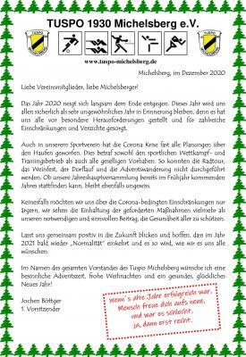 Advents-, Weihnachts- und Neujahrsgruß